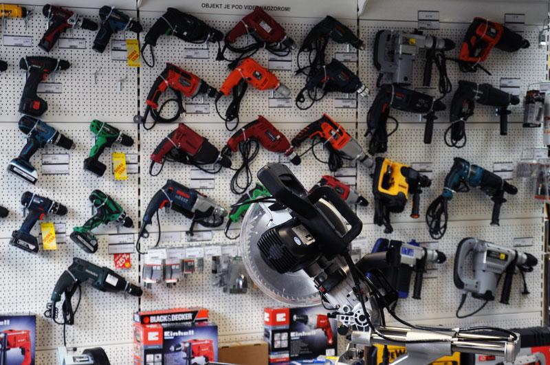 Ročno orodje vseh znamk